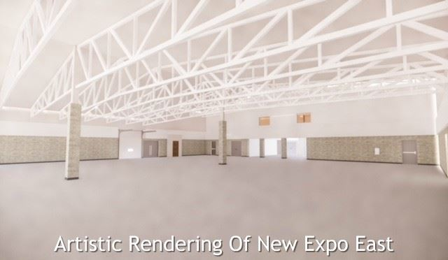 Artistic Rendering Of Renovated Expo East