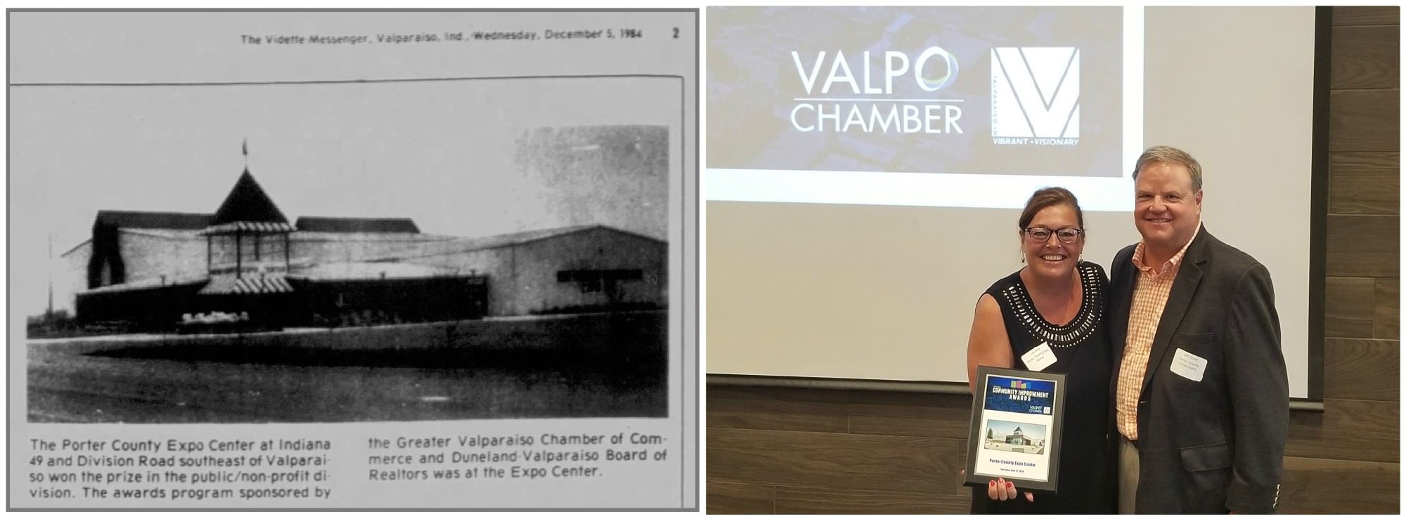 Valparaiso Community Improvement Awards From 1984 and 2019