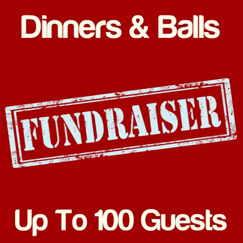 Fundraising Dinners & Balls Up To 100 Guests Icon