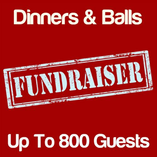 Fundraising Dinners & Balls Up To 800 Guests Icon
