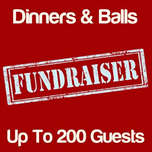 Fundraising Dinners & Balls Up To 200 Guests Icon