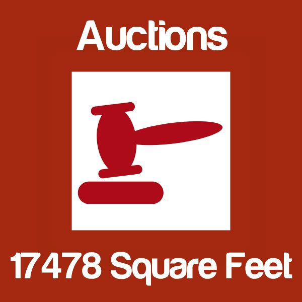 Auctions Up To 17478 Square Feet Icon