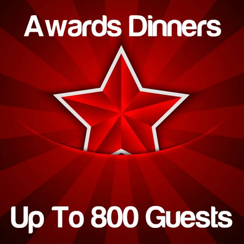 Awards Dinners Up to 800 Guests Icon