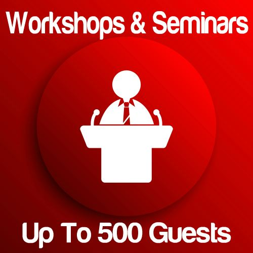 Workshop Up To 500 Guests Icon