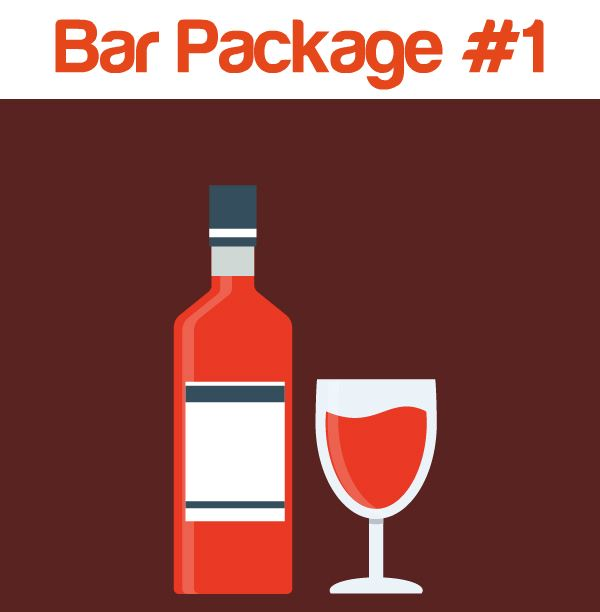 Learn more about bar services package #1