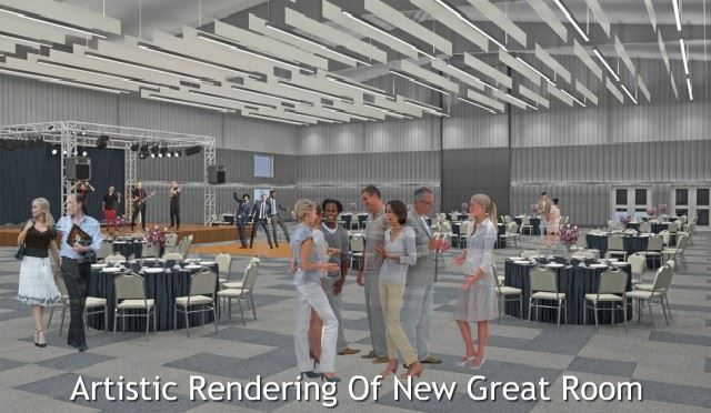 Artistic Rendering of New Great Room In Expo West