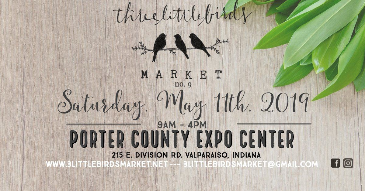 2019 Three Little Birds Market Poster