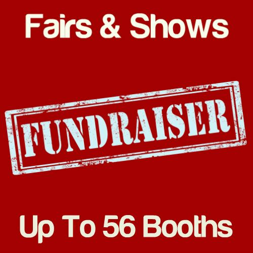 Fundraiser Fairs & Shows Up To 56 Booths Icon