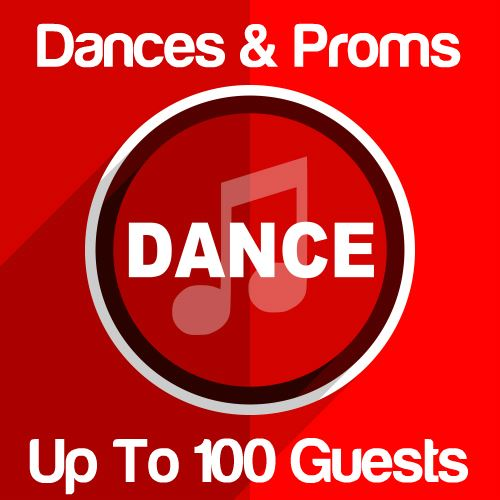 Dances & Proms Up To 100 Guests Icon