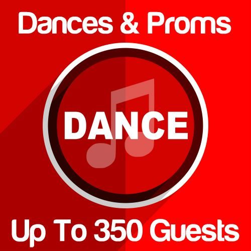 Dances & Proms Up To 350 Guests Icon