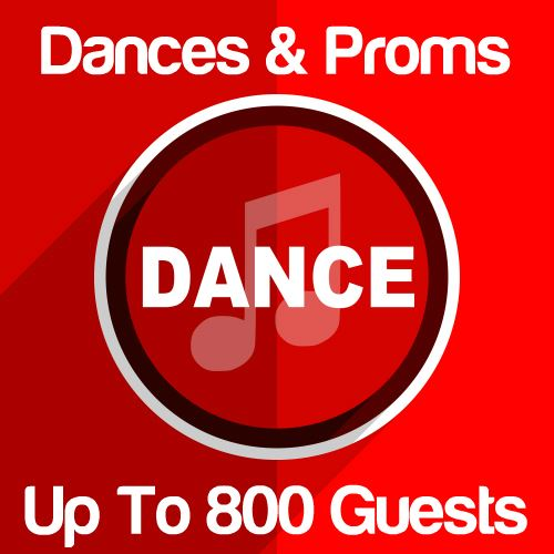 Dances & Proms Up To 800 Guests Icon