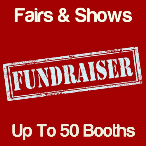 Fundraiser Fairs & Shows Up To 50 Booths Icon