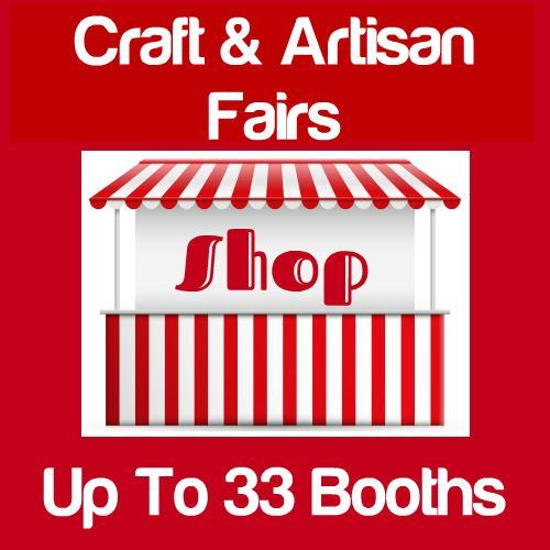 Craft & Artisan Fairs Up To 33 Booths Icon