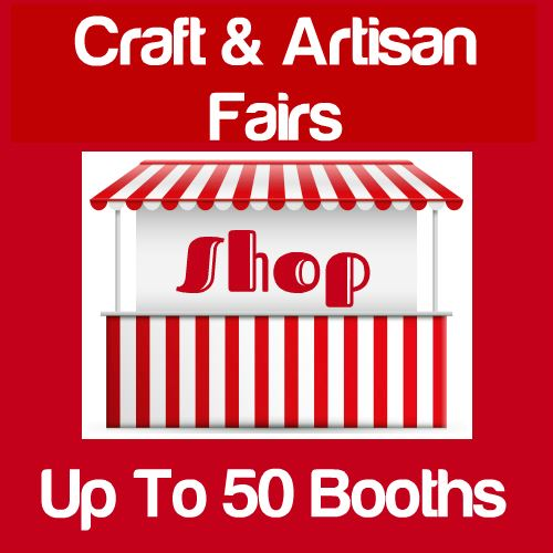 Craft & Artisan Fairs Up To 50 Booths Icon