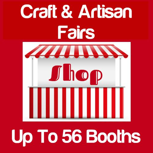 Craft & Artisan Fairs Up To 56 Booths Icon