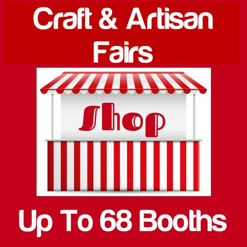 Craft & Artisan Fairs Up To 68 Booths Icon