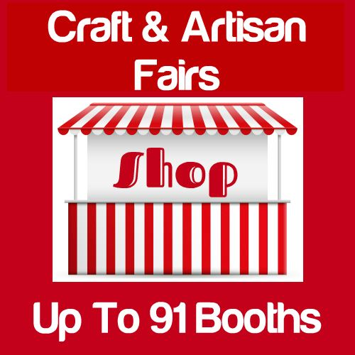 Craft & Artisan Fairs Up To 91 Booths Icon